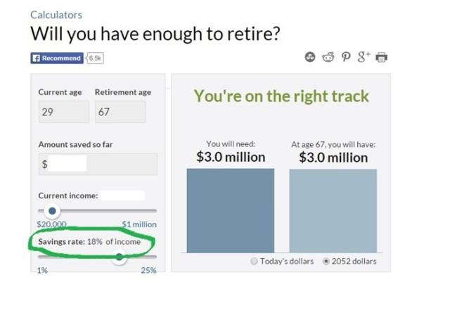 CNN Retirement Calculator